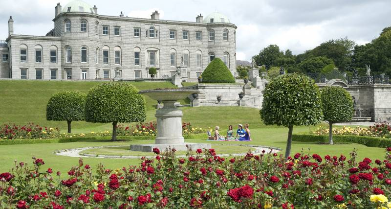 powerscourt-house-gardens